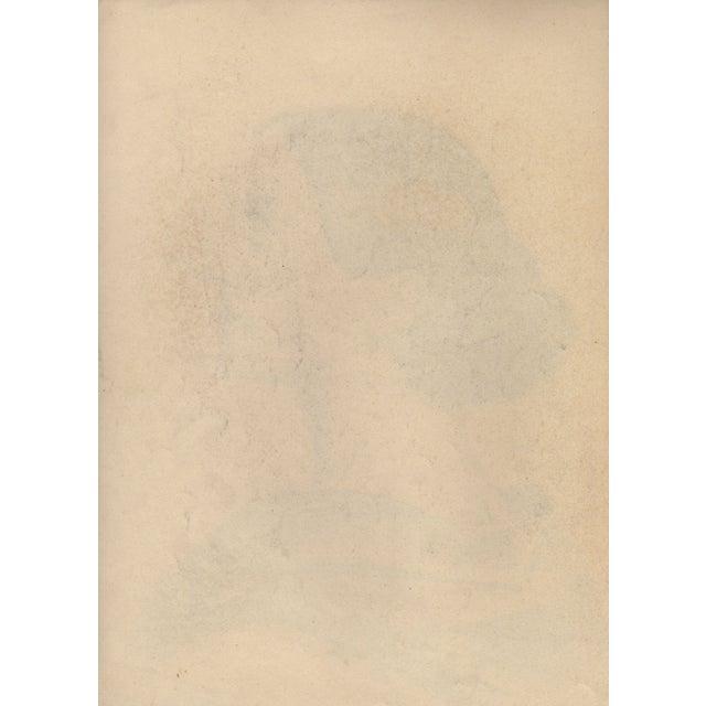 Auguste Revel 1927 Fine Female Portrait - Image 2 of 2