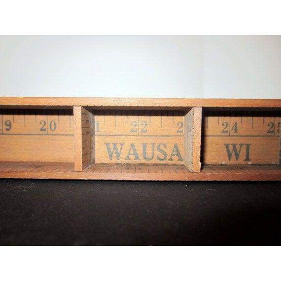Wausau Wi Folk Art Display Unit - Image 6 of 8