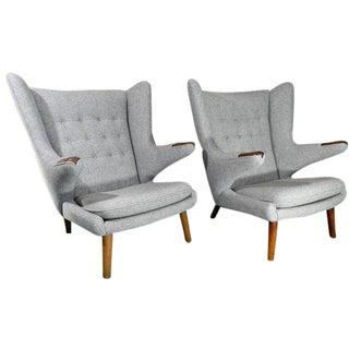 Hans Wegner Papa Bear Chairs - A Pair