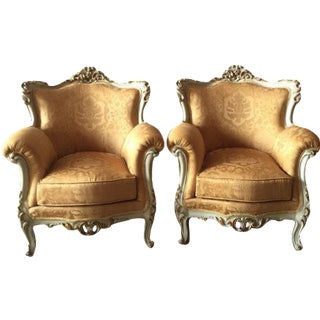 Baroque Armchairs - A Pair