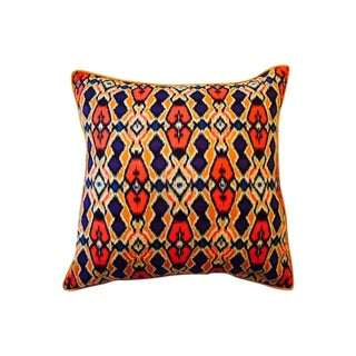 Vibrant Tribal Pillow Cover