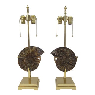 Pair of Table Lamps attributed To Willy Daro