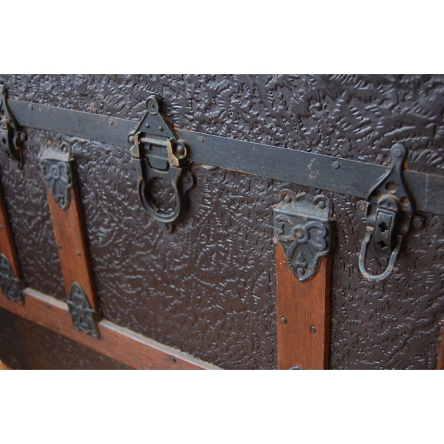 Antique 1800's Trunk - Image 5 of 7