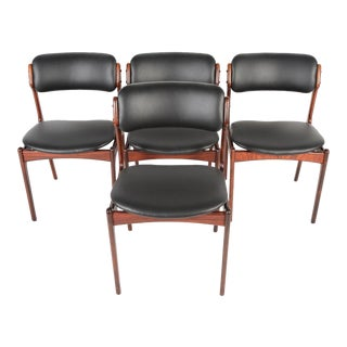 Erik Buck Model 49 Dining Chairs - Set of 4