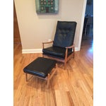 Image of Milo Baughman Recliner and Ottoman