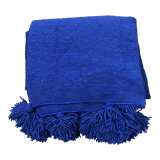 Abanja Kesh Indigo Blue Bed Cover