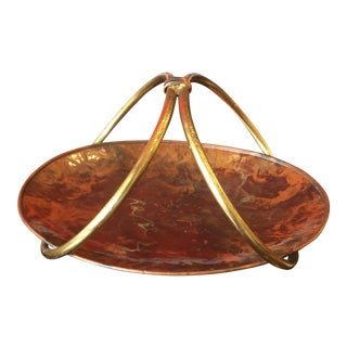 Italian Copper & Brass Tray