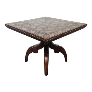 Widdicomb Side Table With Inlaid Top