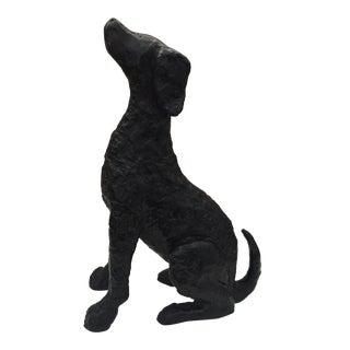 Metal Hound Dog Figurine