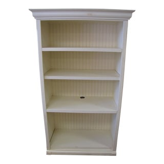 White Contemporary Shelving Unit