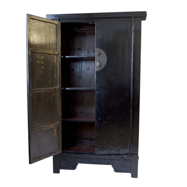 Image of Black Lacquer Cabinet