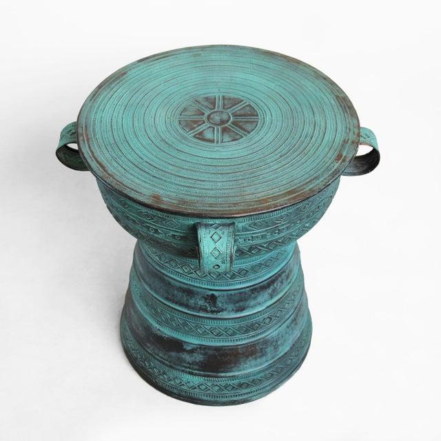 Copper Rain Drum Table - Image 2 of 5