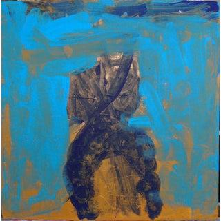 """Feeling Blue"" Acrylic Abstract"