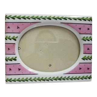 Limoges Picture Frame & Bouquet Figurine Box