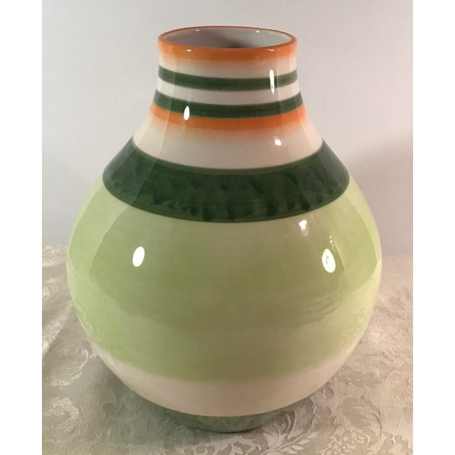Fitz & Floyd Ceramic Vase - Image 5 of 7