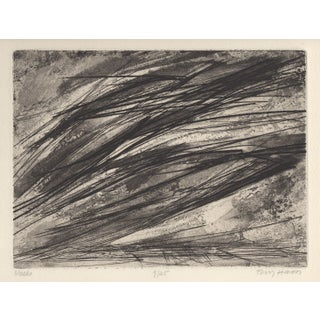 Terry Haas Mid-Century Modern Etching