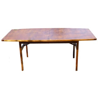 Jens Risom Dining Table With Two Leaves
