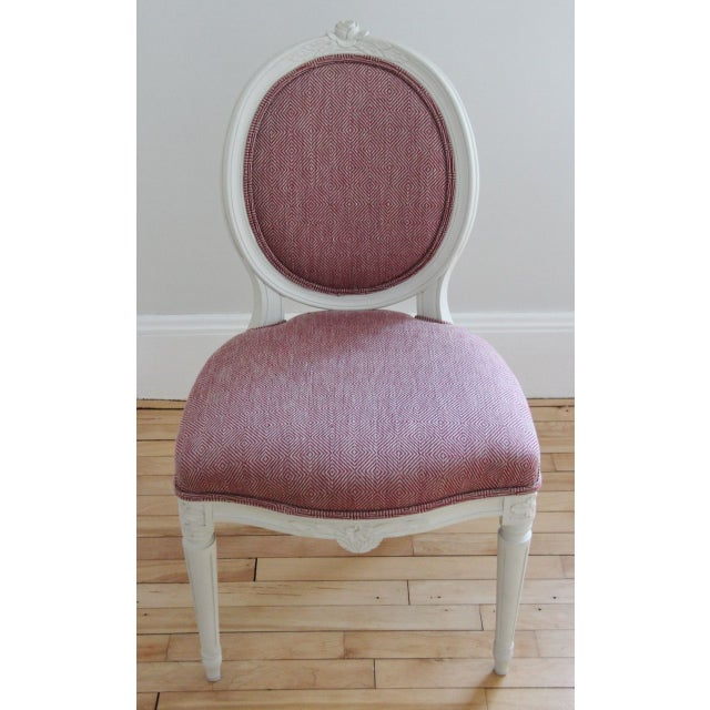 Swedish Gustavian Style Side Chairs - A Pair - Image 8 of 8