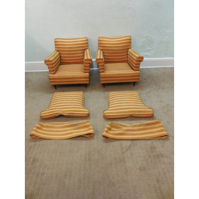 Vintage Mid-Century Modern Lounge Chairs - A Pair - Image 3 of 10