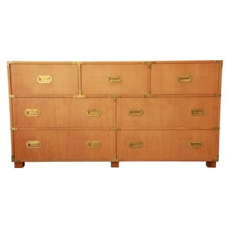 Baker Furniture Campaign-Style Chest of Drawers