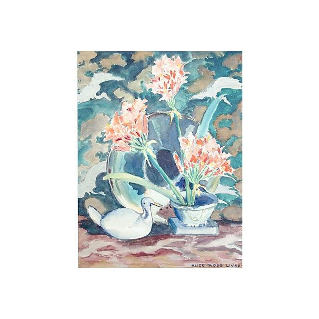 Image of Floral Still Life by Alice Ross Livsey