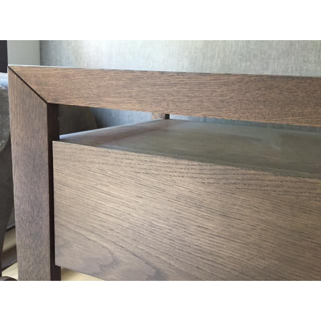 Modern Style Wooden Nightstand - Image 6 of 7