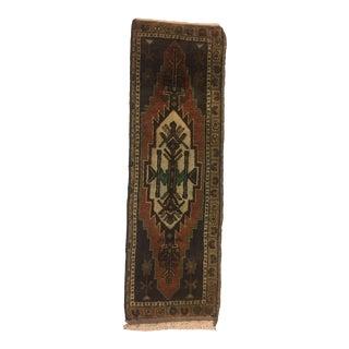 "Anatolian Handmade Oushak Carpet - 1'5"" x 4'6"""