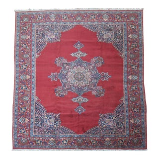 Antique Persian Kashan Rug - 11'2'' x 14'6''