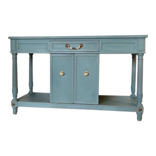 Thomasville Blue Wood Buffet / Server
