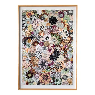 Floral Collage on Paper