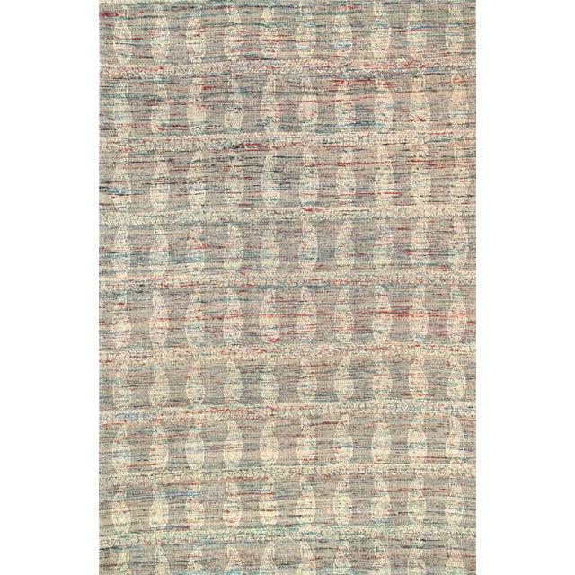 Image of Pasargad Modern Lamb's Wool Area Rug - 5' x 8'