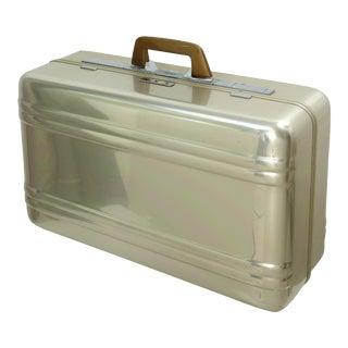 Vintage Halliburton Aluminum Suitcase