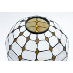 Image of Leaded Stained Glass Globes - a Pair