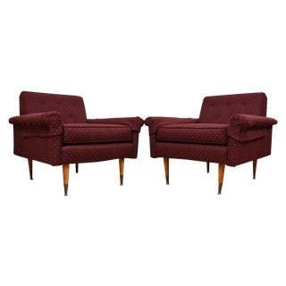Folke Ohlsson Style Lounge Chairs - A Pair