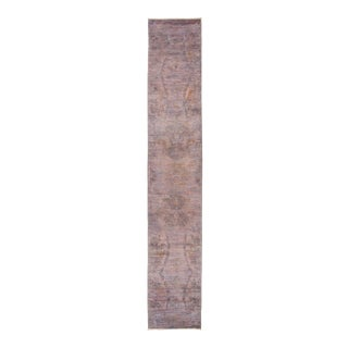 """Vibrance Hand Knotted Runner Rug - 2' 5"""" X 14' 2"""""""