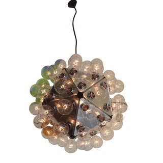 Flos Italy Space Age Large Taraxacum Chandelier