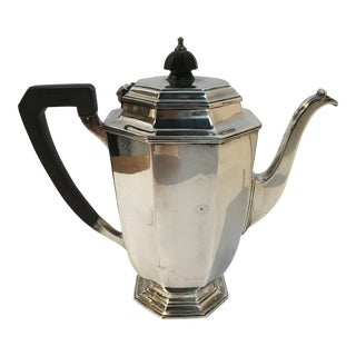 Sheffield London Silver Coffee Pot