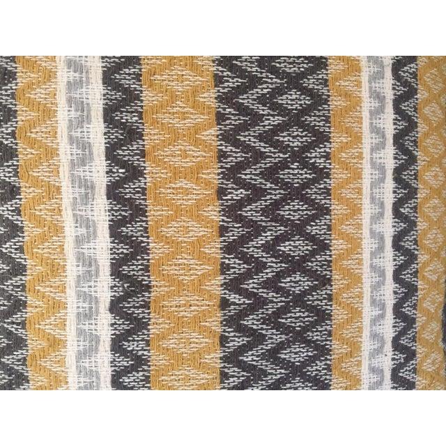 West Elm Silk Jacquard Hand-Woven Pillows - A Pair - Image 5 of 11