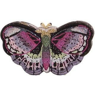 Judith Leiber Austrian Crystal Butterfly Pill Box