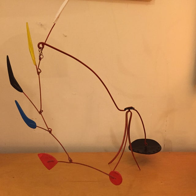 Image of Abstract Mobile F. Ancil in the Manner of Calder