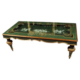 20th Century Fornasetti Style Coffee Table