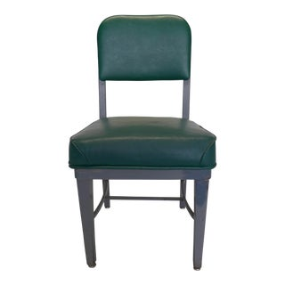 Mid-Century Modern Green Desk Chair