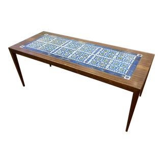 Severin Hansen Rosewood & Tile Coffee Table