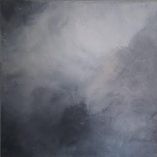 """""""Smokey Clouds"""" Original Abstract Art by Kris Gould"""