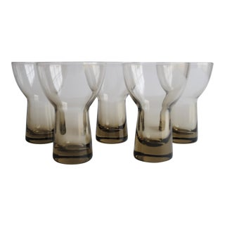 Mid-Century Cocktail Glasses - Set of 5