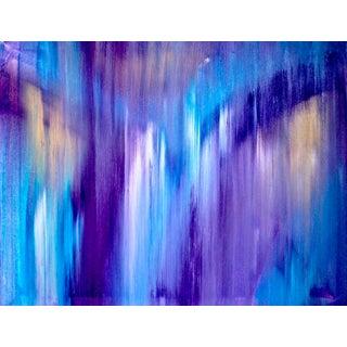 """Finish Line"" Acrylic on Canvas Painting"