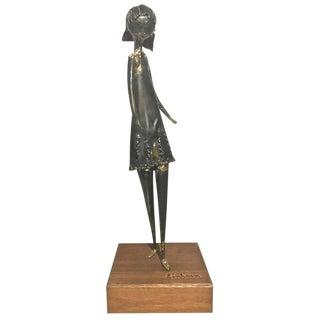 Harold Einhorn Mid-Century Girl Sculpture