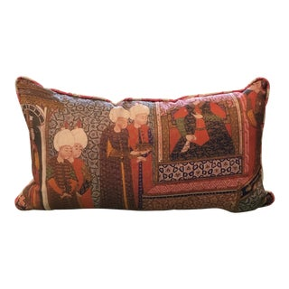 Michelle Nussbaumer Red Lumbar Pillow