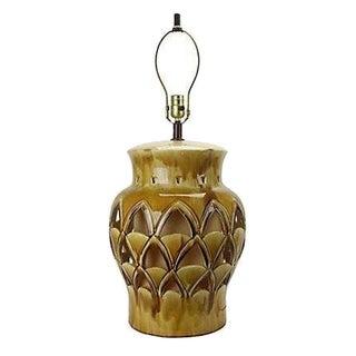 Vintage Hollywood Regency Gold Table Lamp