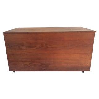 Vintage Rustic Rolling Pine Trunk